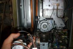 Ремонт трехходового клапана у котла Rinnai