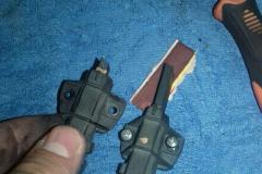Стиралка индезит, замена щёток2