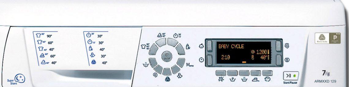 Коды ошибок стиральной машины Ariston