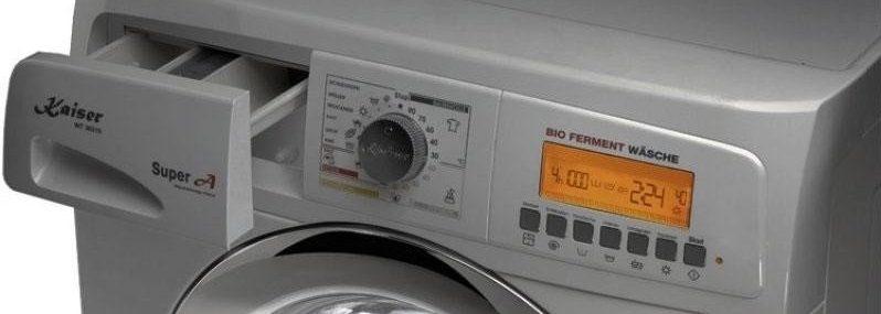 Коды ошибок стиральной машины Kaiser