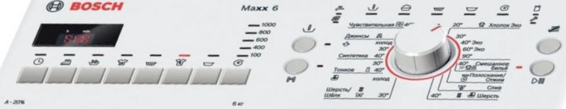 Коды ошибок стиральной машины bosch